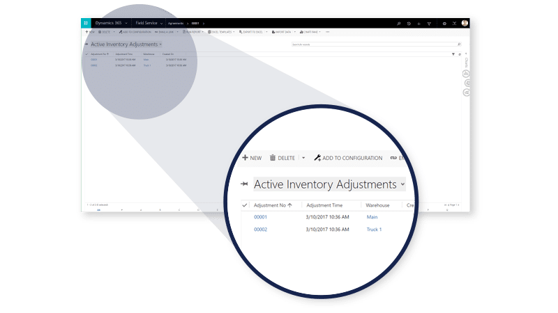 Microsoft Dynamics 365 enables Inventory Management with Field Service Automation