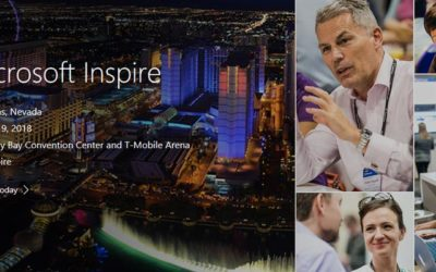 "Getting ""Ready"" to be ""Inspired"" with Microsoft in Las Vegas"