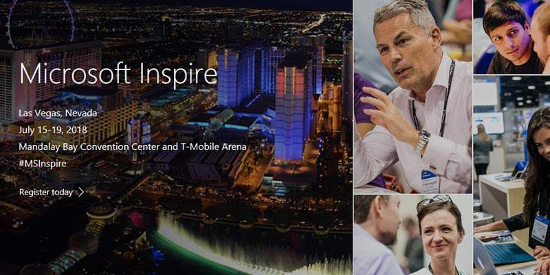 """Getting """"Ready"""" to be """"Inspired"""" with Microsoft in Las Vegas"""